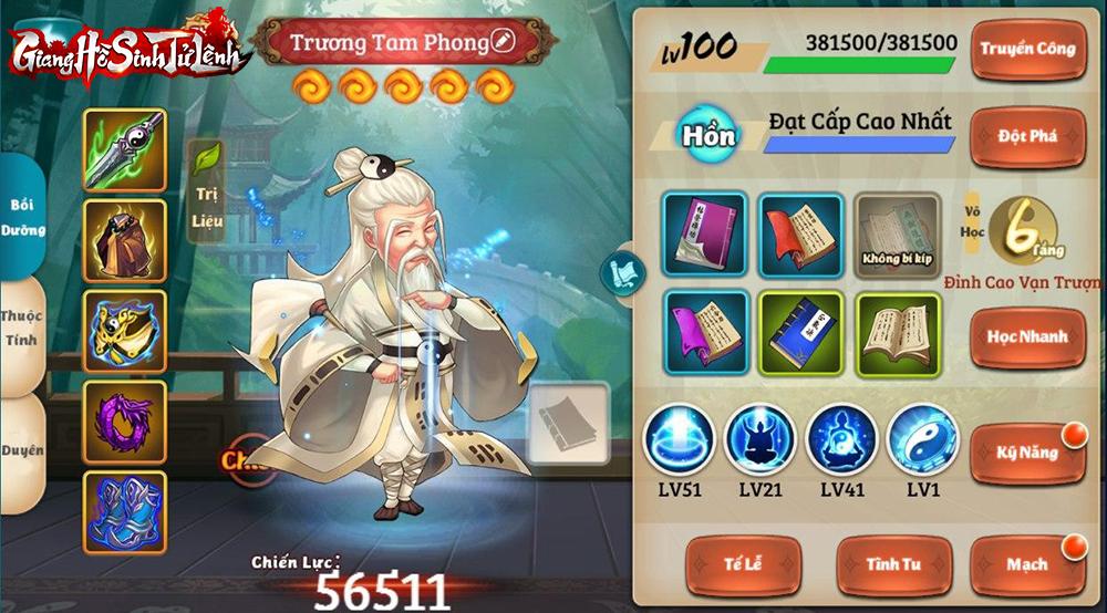 Võ công trước sau không ai sánh bằng, Độc Cô Cầu Bại còn kém 1 bậc nhưng Trương Tam Phong vẫn chỉ là... 1 vị tướng buff? - Ảnh 9.