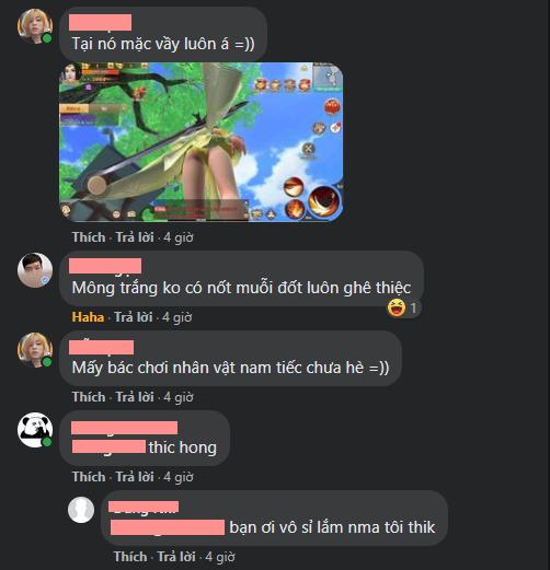Game thủ Việt dạy hư nhau cách soi... vòng 3 siêu căng của nhân vật nữ: Màu xanh, size S, chất liệu ren, sứt chỉ 2.5cm ở hông phải, sờn vài chỗ, tình trạng mới 89% - Ảnh 10.