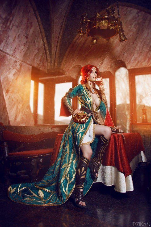 Hút hồn với cosplay nàng phù thủy nóng bỏng Triss trong The Witcher 3 - Ảnh 9.