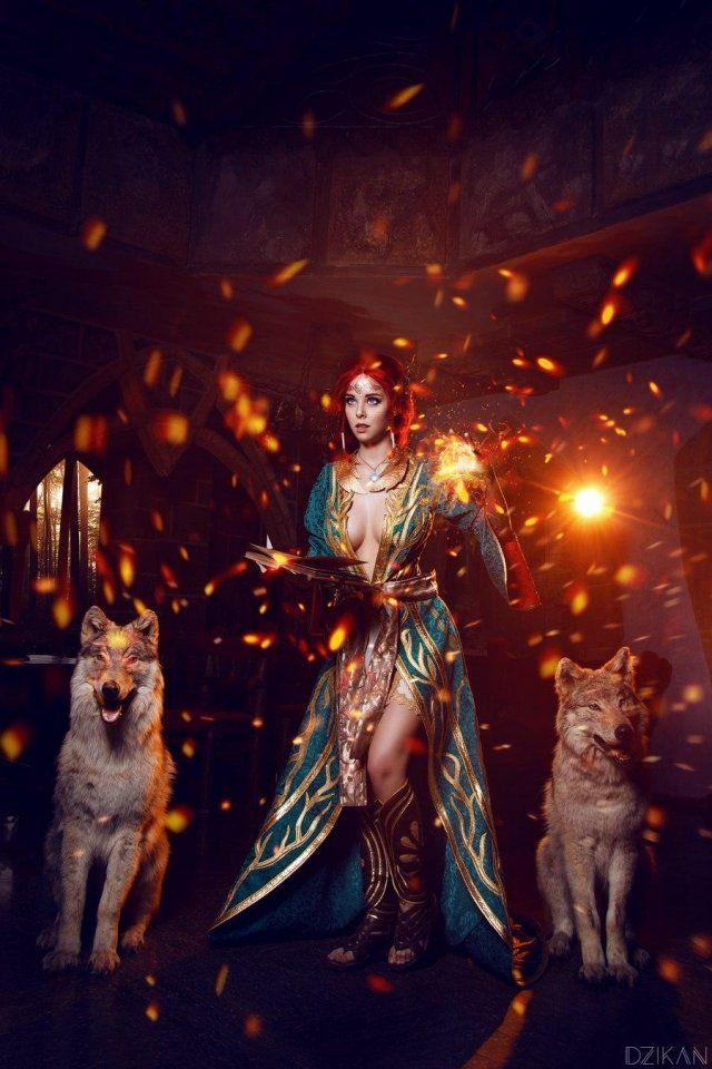 Hút hồn với cosplay nàng phù thủy nóng bỏng Triss trong The Witcher 3 - Ảnh 10.
