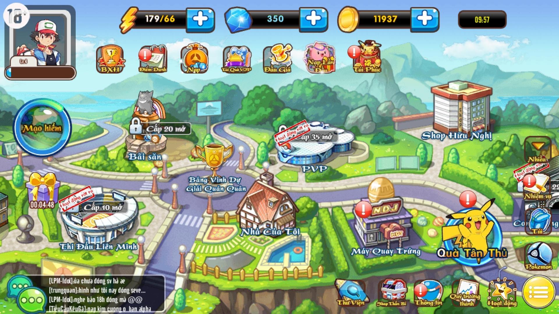 Poke M tặng loạt giftcode chứa vật phẩm và nhiều phần quà hấp dẫn khác mừng game ra mắt - Ảnh 4.