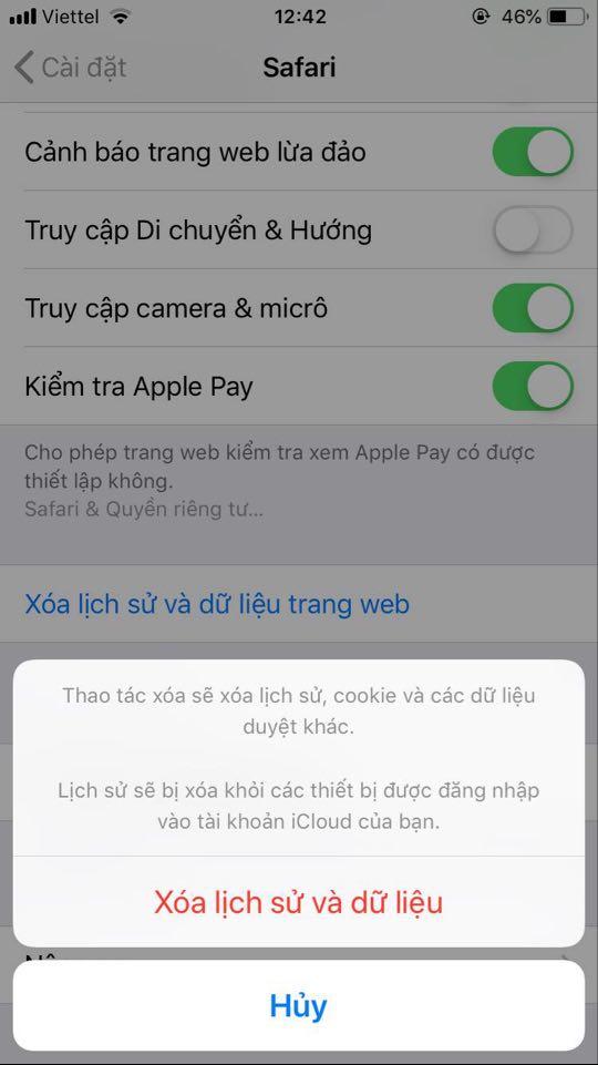 Cách xóa bộ nhớ đệm cache trên iPhone, iPad... giúp máy chạy mượt mà, ít giật lag - Ảnh 1.