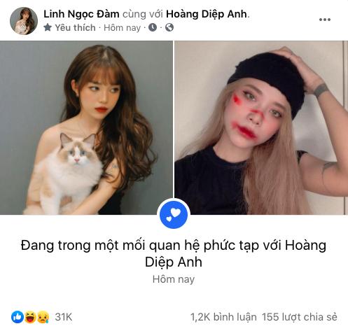 """Linh Ngọc Đàm đòi chuyển khoản tiền tỷ thì mới quay lại, người yêu cũ lập tức công khai hẹn hò với """"Facebook"""" lạ - Ảnh 4."""