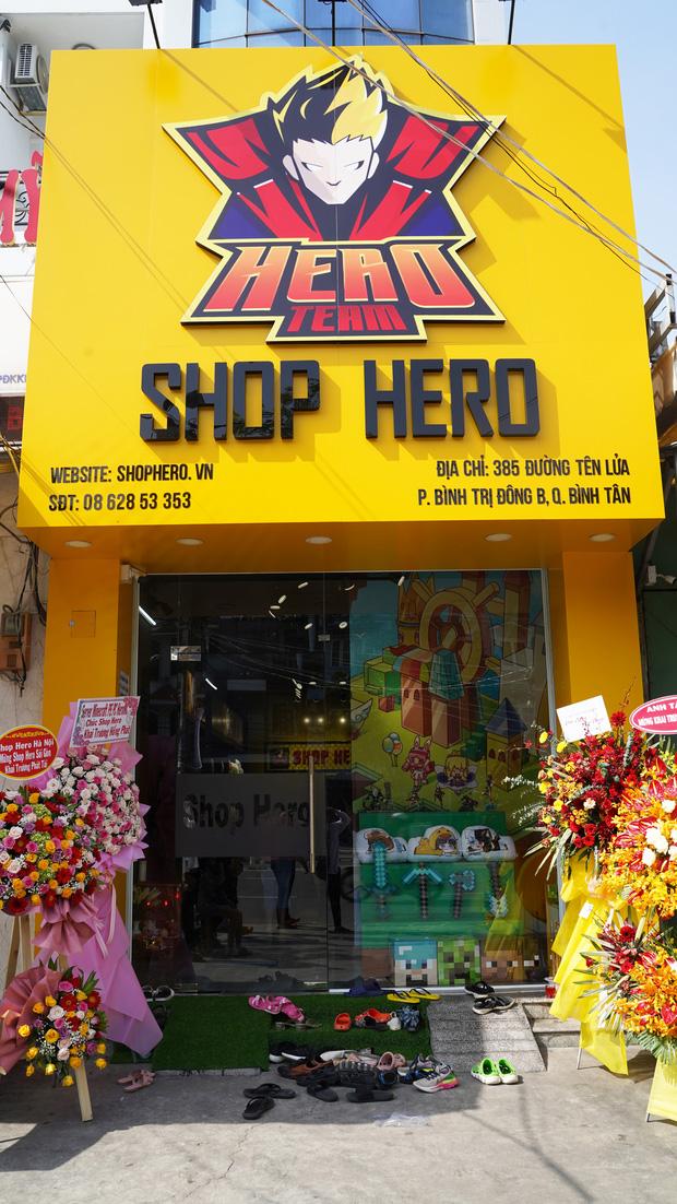 Khai trương Shop Hero dịp đầu năm mới, biệt đội Hero Team thật biết cách chiều lòng fan - Ảnh 1.