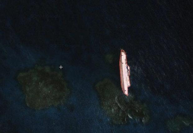Những hình ảnh đáng sợ vô tình được phát hiện bởi Google Maps - Ảnh 1.