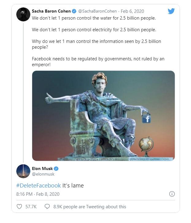 Mối thâm thù giữa Elon Musk và Mark Zuckerberg: Ghét tới mức thẳng tay xóa trang Facebook của SpaceX, Tesla, gọi nhau là vô trách nhiệm - Ảnh 3.