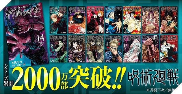 Manga Jujutsu Kaisen chạm cốt mốc 20 triệu bản, đang trên con đường trở thành Kimetsu No Yaiba thứ hai - Ảnh 1.