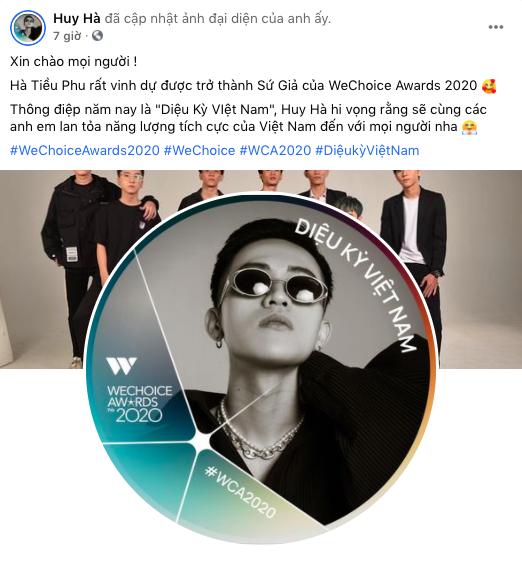"""Nóng lòng check-in WeChoice Awards 2020, những """"Sứ giả"""" đầu tiên đã lộ diện! - Ảnh 4."""
