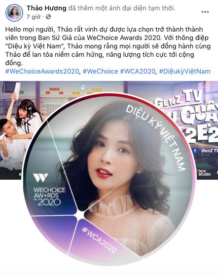 """Nóng lòng check-in WeChoice Awards 2020, những """"Sứ giả"""" đầu tiên đã lộ diện! - Ảnh 3."""