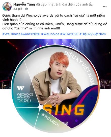 """Nóng lòng check-in WeChoice Awards 2020, những """"Sứ giả"""" đầu tiên đã lộ diện! - Ảnh 2."""