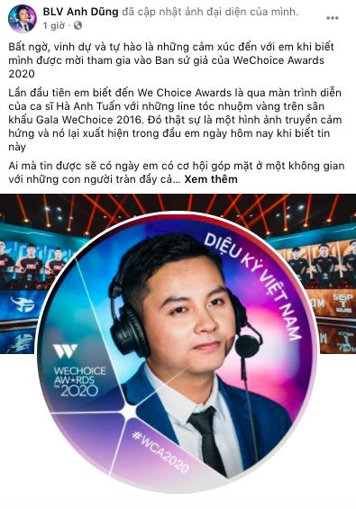 """Nóng lòng check-in WeChoice Awards 2020, những """"Sứ giả"""" đầu tiên đã lộ diện! - Ảnh 1."""