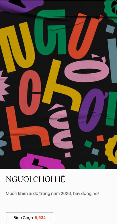 """3 ngày đầu vòng Bình chọn WeChoice Awards 2020: Nam Blue """"chiếm sóng"""", SofM """"thất sủng"""" - Ảnh 2."""