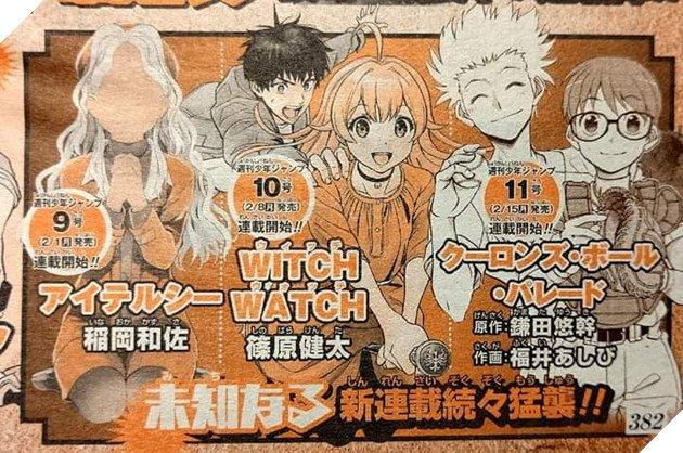 Weekly Shonen Jump công bố 4 manga chưa bóc tem ra mắt đầu năm 2021, toàn tác giả nổi tiếng - Ảnh 2.