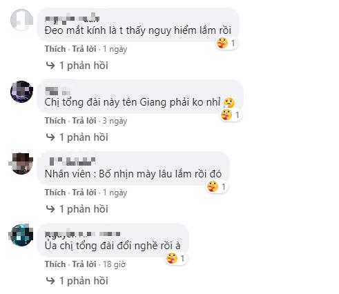 Không ít fan đã nhận ra Chị Tổng Đài - gương mặt quen thuộc trên TikTok dạo gần đây