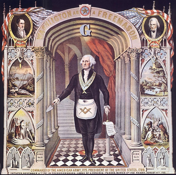 Bí ẩn xoay quanh kiến trúc thành phố Washington và hội kín Freemasonry (Hội Tam Điểm) - Ảnh 2.