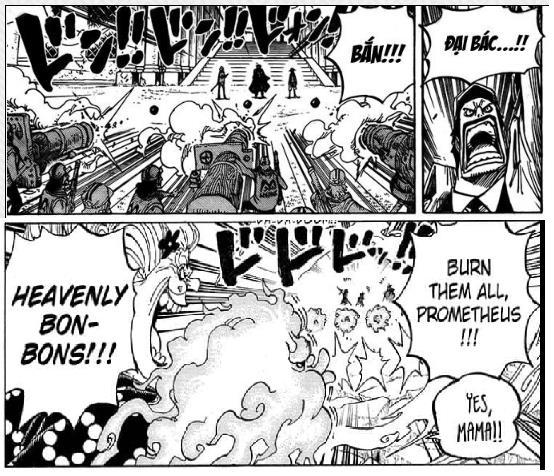 Soi mói những chi tiết thú vị trong One Piece chap 1001, Siêu Tân Tinh đại chiến Tứ Hoàng (P1) - Ảnh 9.