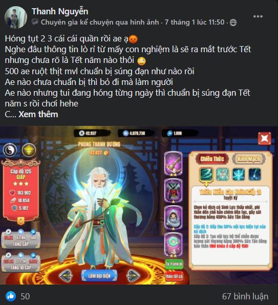 Chưa ra mắt, sư phụ của Lệnh Hồ Xung đã khiến cộng đồng Tân Minh Chủ đau đầu: Quái vật ám sát, hồi máu, hút nộ, xoáy damage thốn đến chết - Ảnh 5.