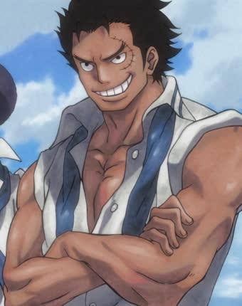 One Piece: Ngắm loạt ảnh hồi trẻ của Anh Hùng Hải Quân Grap lại thấy có nét trẩu giống Luffy - Ảnh 2.