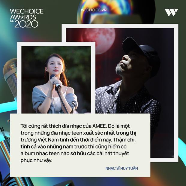 Nhạc sĩ Huy Tuấn khẳng định: WeChoice Awards là một trong số ít lễ trao giải giữ được cá tính riêng - Ảnh 6.