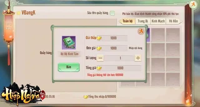 Bê nguyên tính năng độc của VLTK vào game, Hiệp Nghĩa Giang Hồ làm được điều ngay cả con ruột bản gốc không làm được! - Ảnh 7.