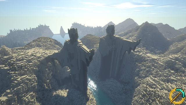 Bỏ 10 năm xây cả thế giới Chúa Nhẫn trong Minecraft, dùng Ray Tracing càng thêm đẹp mê hồn - Ảnh 1.
