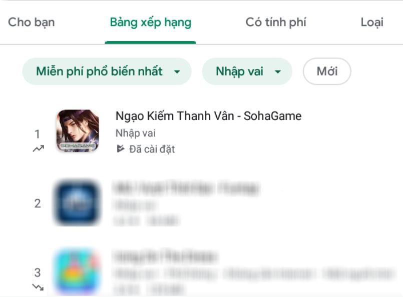 Không những hơn Genshin Impact đến... 20 bậc trên BXH App Store, tựa game này còn hất cẳng hàng loạt bom tấn sừng sỏ tại Việt Nam - Ảnh 9.
