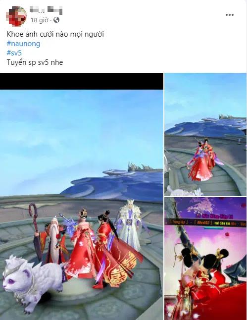 Mới ra mắt hơn 1 ngày mà gamer Ngạo Kiếm Thanh Vân đã chạy KPI Tết, cưới xin ầm ầm, 500 anh em FA nhìn mà tức anh ách - Ảnh 6.