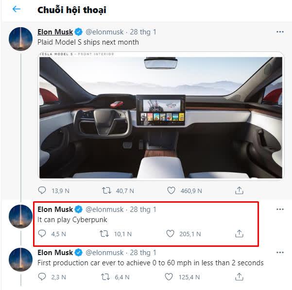 Chiều chuộng game thủ, Elon Musk tung ra mẫu xe siêu bá đạo, chơi được cả game bom tấn AAA - Ảnh 4.