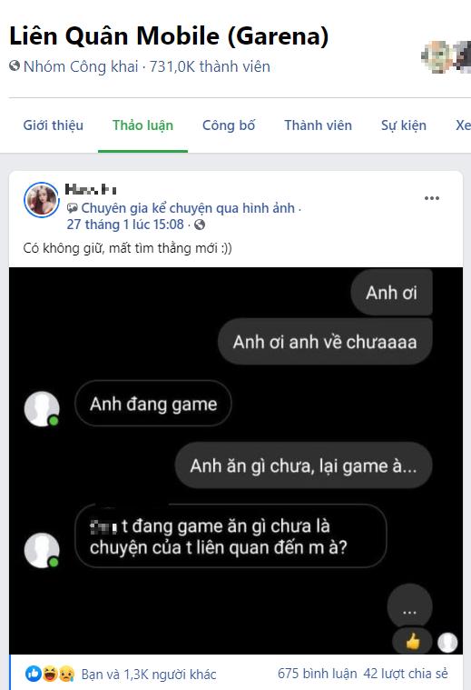 Hỏi han quan tâm người yêu lúc chơi game, cô gái bị ăn chửi té tát và hành động sau đó được CĐM ủng hộ - Ảnh 1.