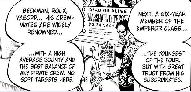 One Piece: Giải mã sức mạnh các thuyền phó, có người mạnh ngang Tứ Hoàng và có mức truy nã cao hơn cả Râu Đen? - Ảnh 5.