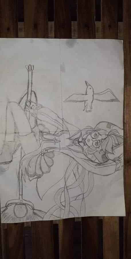 Khi game thủ Liên Quân trổ tài họa sĩ, mỗi tội vẽ xong không ai nhận ra đây là tướng nào - Ảnh 5.