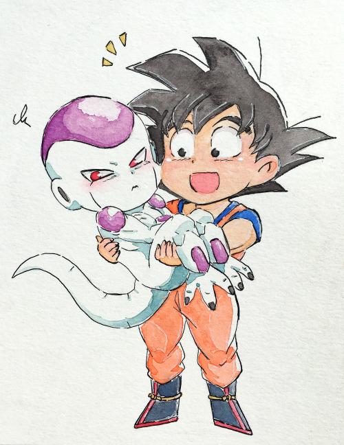 Dragon Ball: Nhìn Goku và Frieza tình bể bình mà fan than thở chỉ có đàn ông mới mang lại hạnh phúc cho nhau - Ảnh 13.