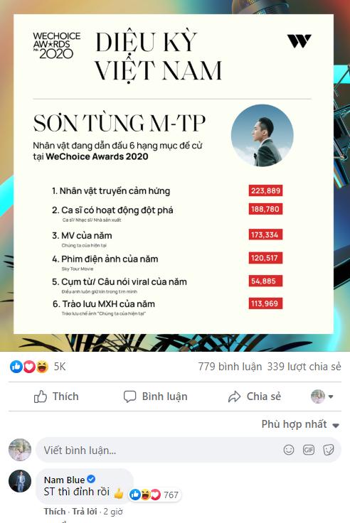 """Nam Blue có hành động khó hiểu: Tự nhận mình là streamer """"cùi bắp"""" nhất Việt Nam, hé lộ thích Sơn Tùng M-TP - Ảnh 3."""