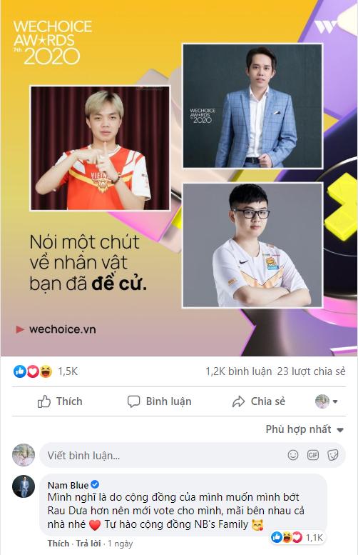 """Nam Blue có hành động khó hiểu: Tự nhận mình là streamer """"cùi bắp"""" nhất Việt Nam, hé lộ thích Sơn Tùng M-TP - Ảnh 1."""