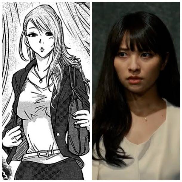 Dàn nhân vật đỉnh của chóp trong Alice in Borderland so với tạo hình manga, thần thái không kém gì phiên bản gốc - Ảnh 6.