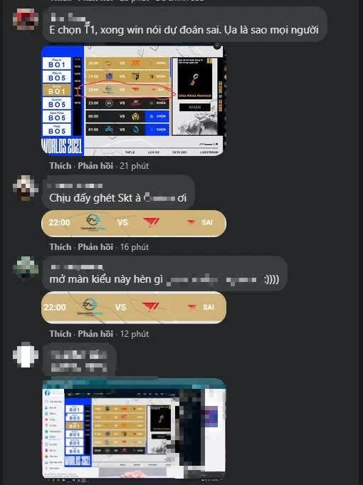Fanpage LMHT Việt Nam náo loạn vì bị game thủ khiếu nại: Dự đoán T1 thắng nhưng kết quả lại báo Sai - Ảnh 5.