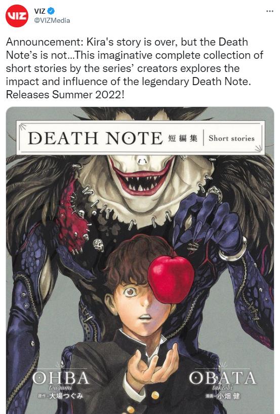 Death Note bất ngờ công bố tái xuất trong năm 2022, giới thiệu chủ nhân mới của cuốn sổ tử thần - Ảnh 2.