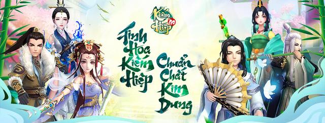Kiếm Hiệp GO chiều fan Kim Dung tới bến, tặng Lệnh Hồ Xung SSR ngay khi đăng nhập, freeship toàn quốc - Ảnh 1.