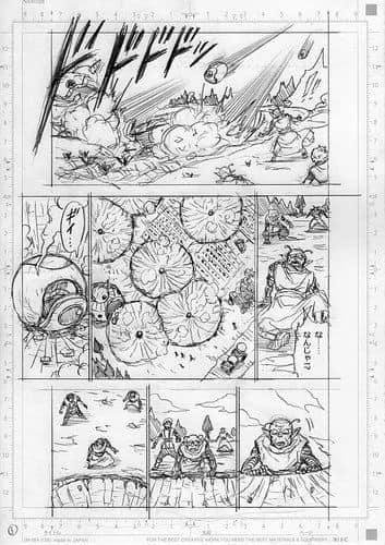 Spoil Dragon Ball Super chap 77 và 7 trang bản thảo: Hé lộ câu chuyện về cha của Goku, anh hùng cứu thế - Ảnh 3.