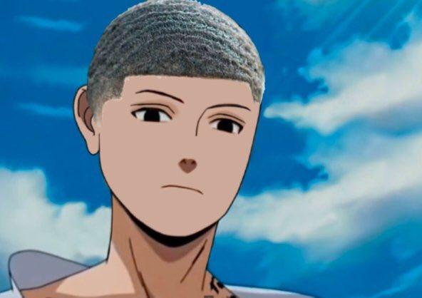 Cười sái quai hàm khi thấy các nhân vật anime để tóc xoăn gợn sóng, Luffy và Zoro trông cực ngầu - Ảnh 21.