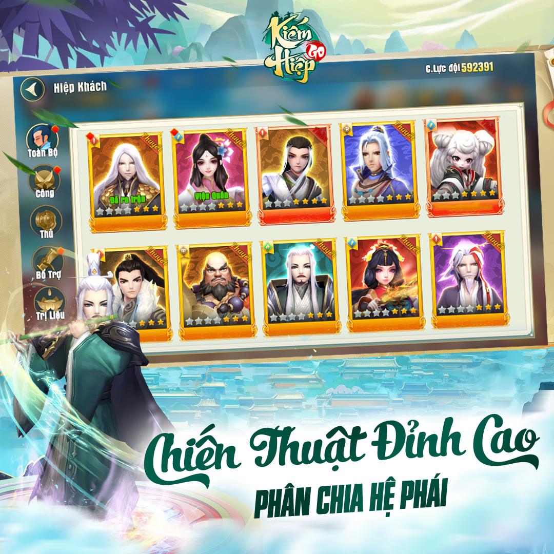 Phục vụ duy nhất thị trường Việt, Kiếm Hiệp GO được đặt hàng những gì để trở thành game chiến thuật Kim Dung chuẩn vị nhất trước nay? - Ảnh 7.