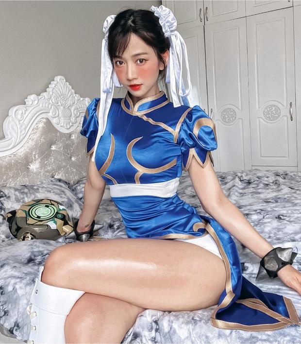 Đu trend Squid Game, Lê Bống khoe clip cosplay theo nữ chính nhưng lại bị dân mạng chê sấp mặt - Ảnh 1.