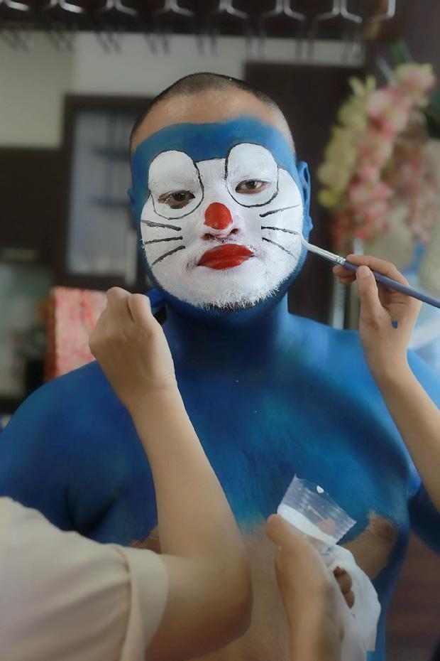 Doraemon phiên bản hàng Việt: Nhìn ngoại hình chuẩn mèo ú nhưng vẫn khiến fan chết tim vì quá lố - Ảnh 3.