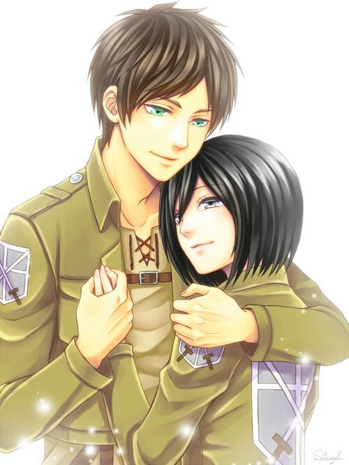 Mặc kệ tác giả nhẫn tâm, fan Attack on Titan tự vẽ ra một tương lai màu hồng nơi Eren và Mikasa bên nhau hạnh phúc - Ảnh 6.