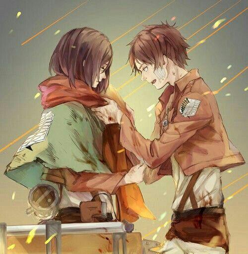 Mặc kệ tác giả nhẫn tâm, fan Attack on Titan tự vẽ ra một tương lai màu hồng nơi Eren và Mikasa bên nhau hạnh phúc - Ảnh 8.