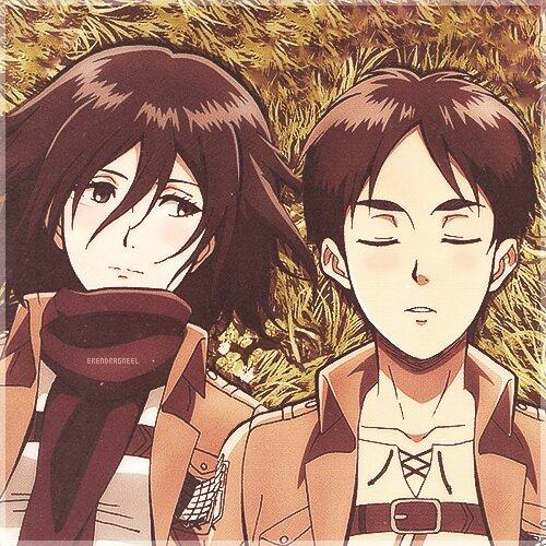 Mặc kệ tác giả nhẫn tâm, fan Attack on Titan tự vẽ ra một tương lai màu hồng nơi Eren và Mikasa bên nhau hạnh phúc - Ảnh 10.