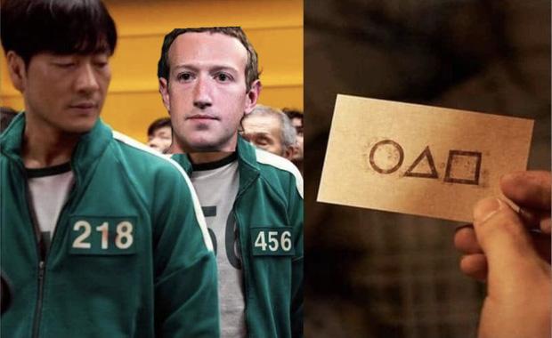 Squid Game bất ngờ trở thành hình ảnh ghê nhất ngày vì Facebook sập: Nhiều hãng lớn, netizen đổ xô vào cà khịa căng đét! - Ảnh 9.