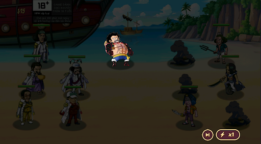 Trên tay Game mobile Kho Báu Hải Tặc: Không phụ lòng cộng đồng One Piece mong đợi bấy lâu nay - Ảnh 3.