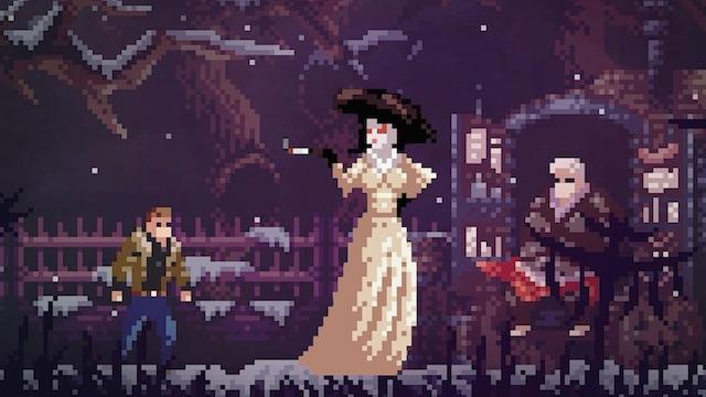 Mời bạn tải về Resident Evil Village phiên bản 2D pixel đầy ma mị được làm theo phong cách dòng game Castlevania - Ảnh 2.