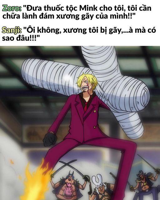 One Piece: Sanji trở thành tâm điểm chế ảnh Photo-1-1633672893126138802907